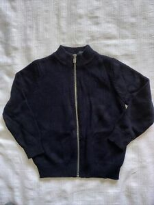 Nwt Jacadi Paris Boy Cardigan Size 4y