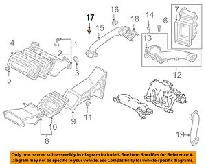 MAZDA OEM Millenia Turbo Turbocharger Intercooler-Air Pipe Seal Right FS0110237A