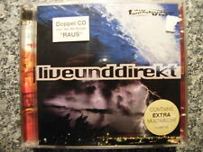 CD Die Fantastischen Vier / Live und Direkt – 2CD Album 1996