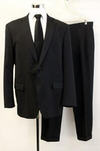 BROOKS BROTHERS 1818 SUIT Blue MADISON FIT Blazer Jacket Coat Wool Mens 46 LONG