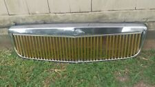2000-2005 CADILLAC DEVILLE E&G CLASSIC VERTICAL GOLD GRILLE GRILL 01 02 03 04