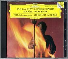 John Eliot GARDINER: RACHMANINOV Symphonic Dances JANACEK Taras Bulba NDR DG CD