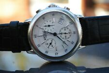 Lovely Men's Rotary Chronongraph Watch. Pearlescent face. GWO Nice Piece.Classy