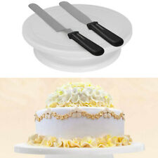 6pcs Cake Turntable Decorating Tools for Kitchen Baking Birthdays and Weddings