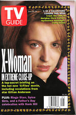 TV Guide June 1998 Gillian Anderson X-Files Chris Carter X-Woman Ringo Starr