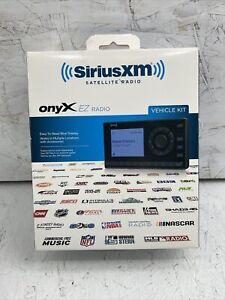 SiriusXM XEZ1V1 Onyx EZ Satellite Radio with Vehicle Kit Open Box Never Used