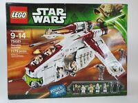 Lego Star Wars Republic Gunship Factory Sealed 75021 Check Condition & Photos