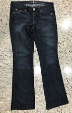 """7 for All Man Kind Women's """"A"""" Pocket Dark Wash Jeans Size 29"""