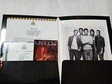 Original Maroon 5 Press Kit Adam Levine Songs About Jane 2002 Promo 8x10 Picture