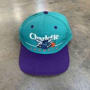 VTG 90s Twins Brand LaMelo Ball Charlotte Hornets NBA Snapback o/s