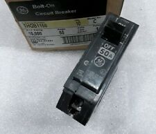 THQB1150 GENERAL ELECTRIC CIRCUIT BREAKER 1POLE  50AMP 120/240 VAC NEW!