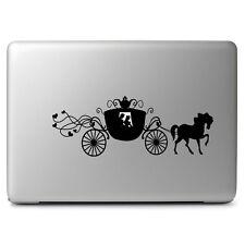 "Cute Cinderella Carriage Disney Macbook Decal Viny Sticker Air/Pro/Retina 13""15"""