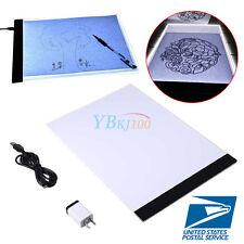 LED Tracing Light Box Board Artist Tattoo A4 Drawing Pad Table Stencil Supply