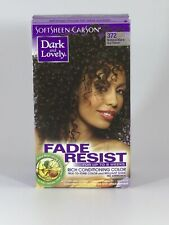 DARK&LOVELY Fade Resist Rich Conditioning Hair Color #372 Natural Black