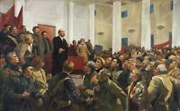 Vladimir Lenin in 1918 Marxism-Leninism Russian Communist Party TOP Oil Painting