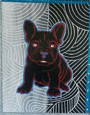 original 16x20 acrylic painting of a bulldog