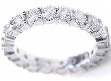 1.77 carat Round DIAMOND ETERNITY RING 14k White Gold Band, F-G, VS/SI1 size 9