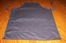 Handmade girls,boys   black cotton blend  toddler apron