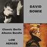 David Bowie - Heroes & Low - 2x180 Gram Remastered Vinyl LP Bundle *New/Sealed*