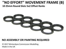 """No Effort"" Movement Tray Frame(B), Suits Age of Sigmar, Warhammer, 25mm Round"