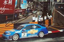 Rob Huff firmado Chevrolet Cruze WTCC, Macao 2008