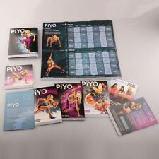 5 DVDS WORKOUT FITNESS PROGRAM WITH GUIDES & BONUS NEW & SEALED