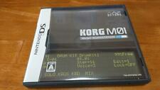 NINTENDO DS KORG M01 Music Workstation by Nintendo Gamesoft Japan DETUNE