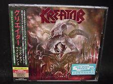 KREATOR Gods Of Violence + 1 JAPAN CD + BLU-RAY Tormentor Darkness Voodoocult