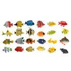 Pack of 24 Mini Tropical Aquatic Sea  Ocean Creatures Animal Figures Toy
