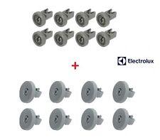 REX ELECTROLUX Kit 8+8 Ruote Cestello Superiore e Inferiore per Lavastoviglie