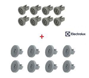 REX ELECTROLUX Kit da 16 Ruote Cestello Superiore e Inferiore per Lavastoviglie