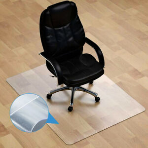Non Slip Home Office Chair Desk Mat Floor Computer Carpet Protector 90*120cm