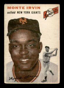 1954 Topps Set Break #3 Monte Irvin LOW GRADE *OBGcards*