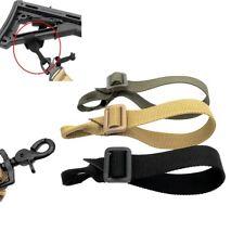 Tactic Hunting Gun Sling Strap Nylon Single Point Adjustable Lanyard Tether New