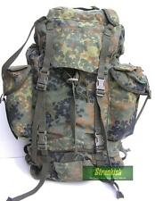 GENUINE GERMAN ARMY COMBAT BACKPACK BERGEN in FLECKTARN CAMO 65 LITRES
