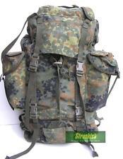 GENUINE GERMAN ARMY COMBAT BACKPACK BERGEN in FLECKTARN CAMO 65 LITRES