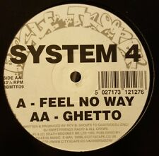 SYSTEM 4 - FEEL NO WAY / GHETTO - ROGUE TROOPER - RARE 1995 JUNGLE DBMTR29