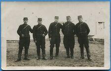 CPA PHOTO: Soldats du 4° Régiment de Cuirassiers / mars 1914