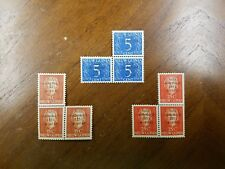 NETHERLANDS NEW GUINEA SCOTT B1-B3 FLOOD RELIEF BLOCKS OF 3 Free Shipping