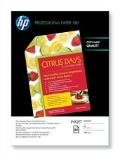 HP Professional (A4) 180g/m2 Glossy Superior Inkjet Paper (White) 1 Pack of 50