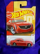 Hot Wheels Cadillac Elmiraj Throwback Decades Exclusive #8/8 Red Die-Cast New