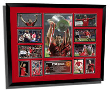 RYAN GIGGS MANCHESTER UNITED FC SIGNED LIMITED EDITION FRAMED MEMORABILIA