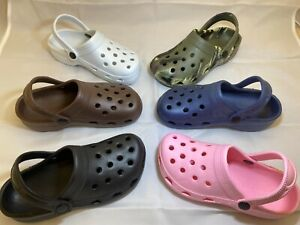 Childrens Childs Clogs Unisex Mules Sandal Garden Pool Holiday Shoes