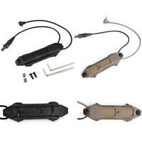 Tactical Augmented Pressure Mount Double Control Switch for PEQ and Flashlight