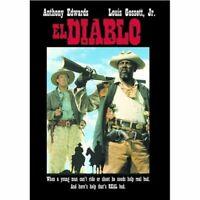 El Diablo DVD Anthony Edwards, Louis Gossett Jr. 1990 WESTERN MOVIE - BRAND NEW