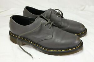 Dr Martens Doc Martens grey leather shoes VG condition size 6.5