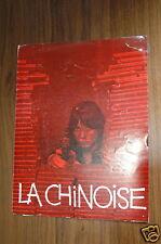 JEAN-LUC GODARD ANNE WIAZEMSKY LA CHINOISE 1967 RARE SYNOPSIS