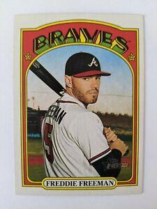 2021 Topps Heritage #39 Freddie Freeman Atlanta Braves