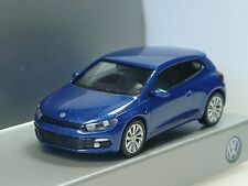 Wiking VW Scirocco azul-metalizado, traficantes Model - 1/87
