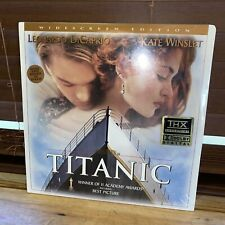 Titanic - Leonardo Dicaprio, Kate Winslet - Widescreen Edition Laserdisc  SEALED